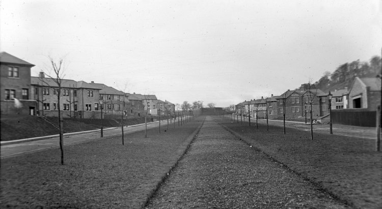 he first council estate in Scotland was built in 1919 in Logie, Dundee. Photo courtesy of Dundee City Archives